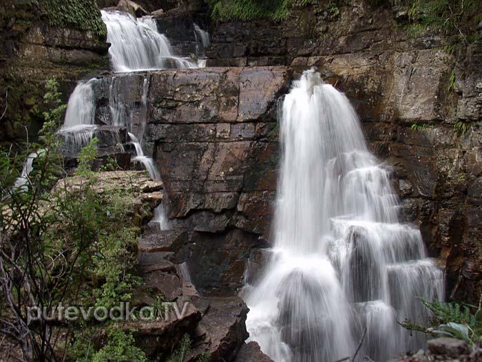 Водопады Оверленд Трека