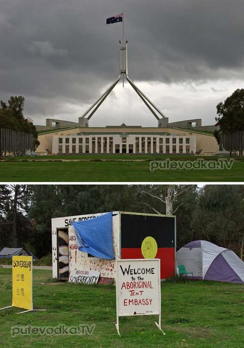 Два парламента: оккупантский и аборигенский