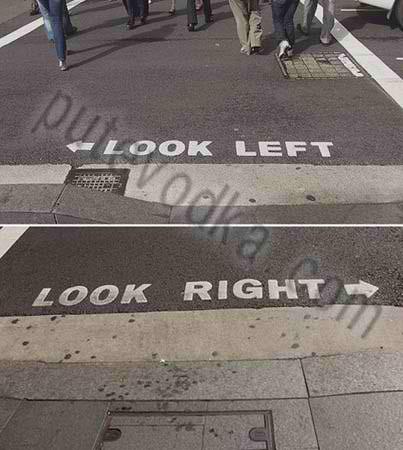 Австралы…Смотри влево… Смотри вправо…