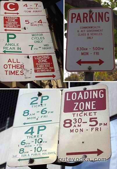 Антиподский парковочный ужас