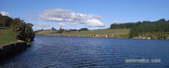 Чистейшая новозеландская река