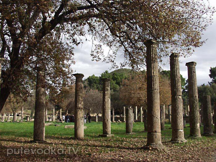 Тишина античной зимы