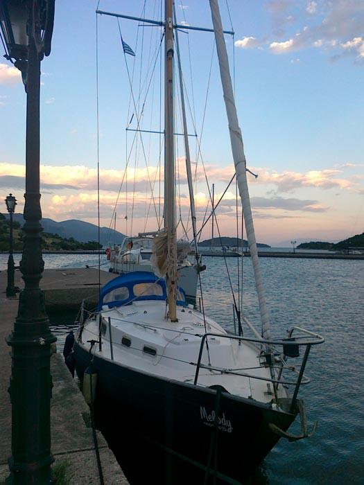 В бухте Тризония