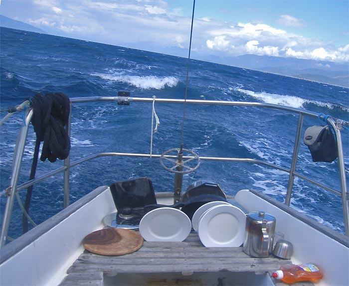 Полным курсом в Коринфском заливе
