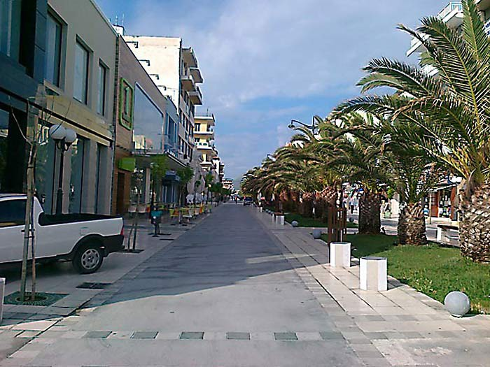Улицы Нового Коринфа