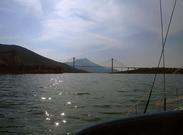 Новый мост в Халкидиках
