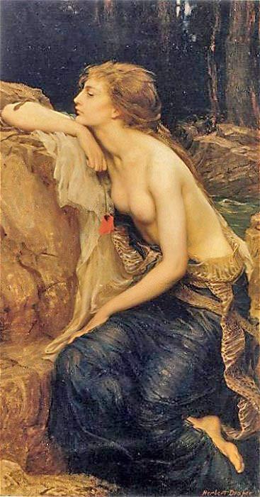 Картина «Ламия» Герберта Дрейпера