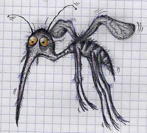 Комар голодный