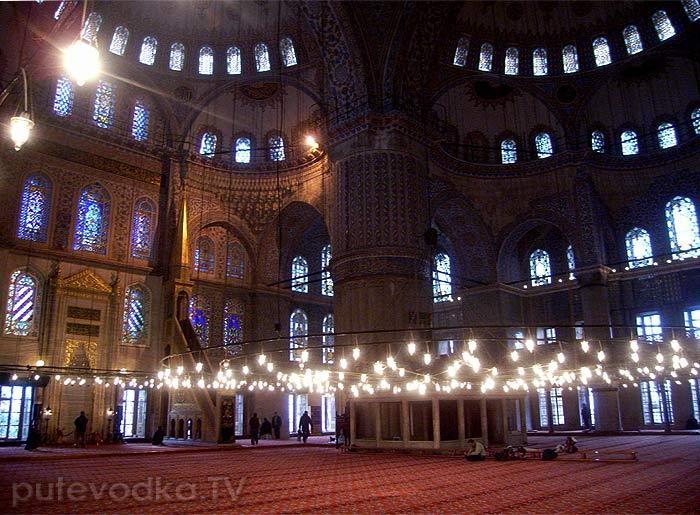 Стамбул. Голубая мечеть.