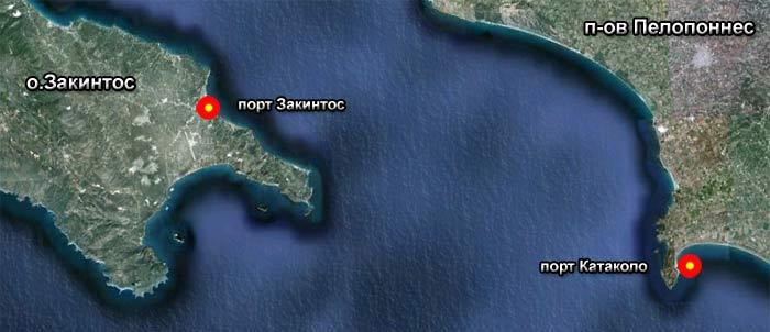 Порт Закинтос (Занте, Zakintos, Zante)
