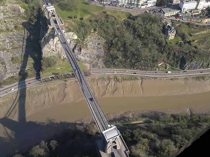 Бристольский висячий мост в Клифтоне. Фото: Джейсон Хоукс (с)