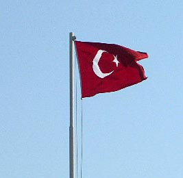 Турецкие флаги тут— везде!