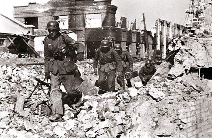 Сталинград. Европейская беда.