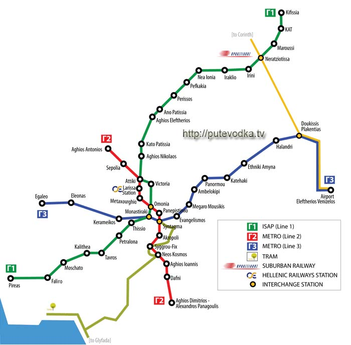 Метро в афинах, подробная инструкция, карта схема афинского метро.