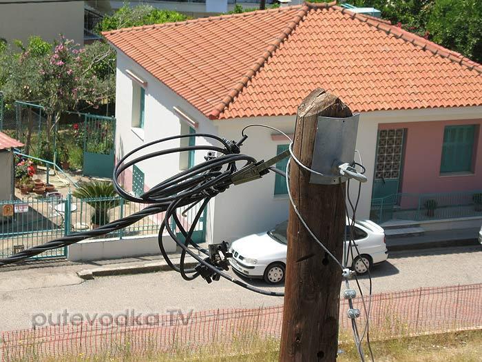 Греция. Илиа. Пиргос. Электричество по-эллински.