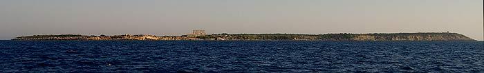 Греция. Ионическое море. Острова Строфадес.