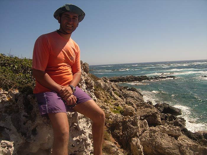 Строфады. Северный остров Гарпия. Панойотис.