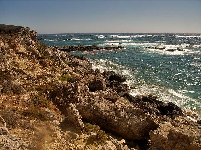 Строфады. Рифы между островами Гарпия и Стамфани.