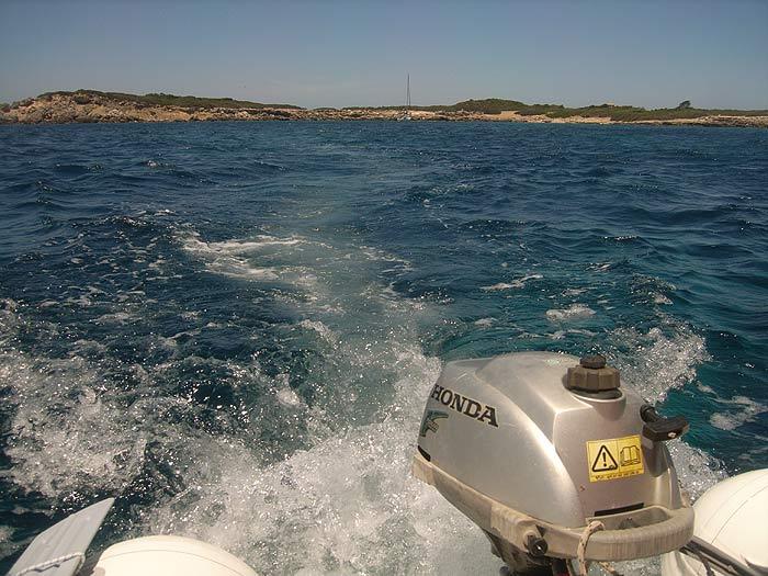 Строфады. С острова Гарпия на остров Стамфани.