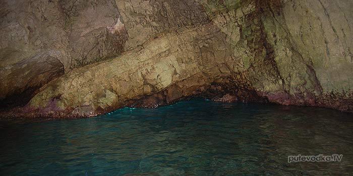 25.07.2012. Греция. Ионическое море. Остров Закинтос. Голубые пещеры.