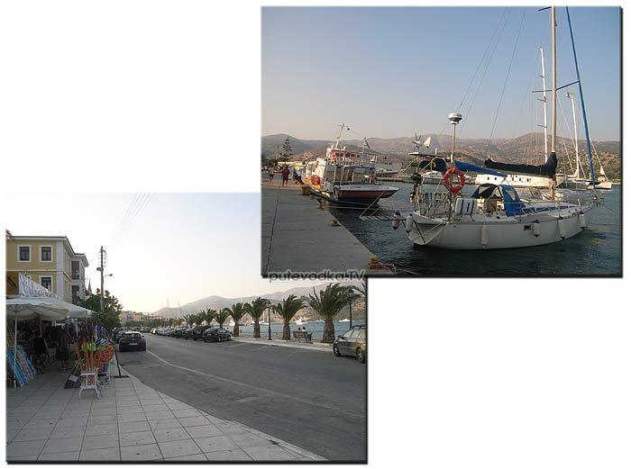 Греция. Ионическое море. Остров Кефалония (Kefallinia). Аргостоли (Argostoli).