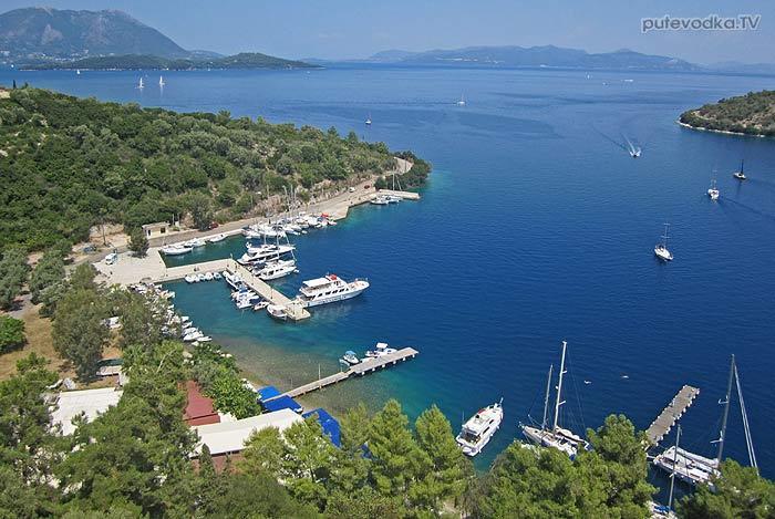 Греция. Ионическое море. Остров Меганиси (Meganisi). Спартахори (Spartahori)