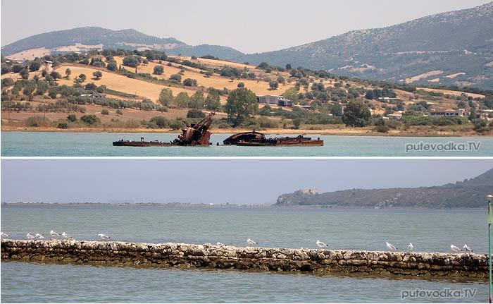 Греция. Ионическое море. Канал Лефкас (Lefkas).