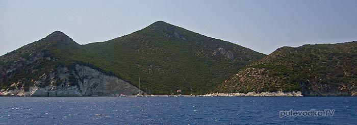 Греция. Ионическое море. Остров Атокос (Atokos).