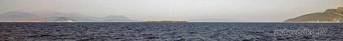 Маленький плоский островок МУРАВЬИШКА (formikoula)