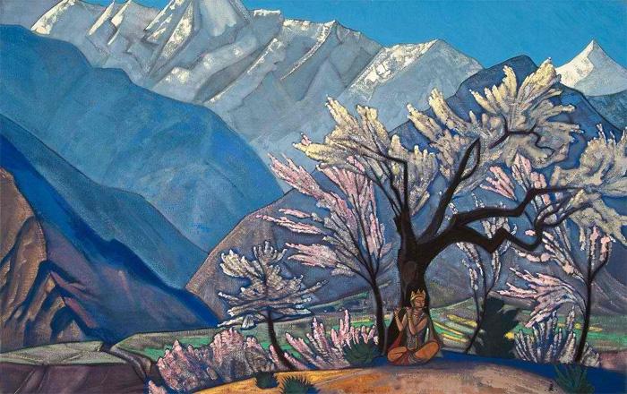 Одна из любимых картин Николая Рериха. «Весна в Кулу». 1929 год. Здесь нет моря. Но есть абсолютно морское чувство реальной несуетливой свободы. Когда вокруг— лишь мой мир. Мой и тех, кому здесь рады.