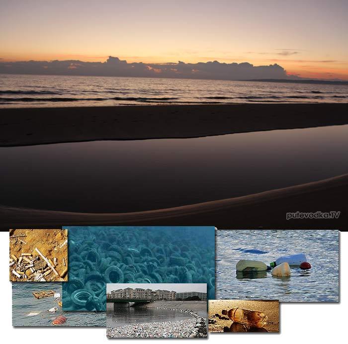 Не бросайте мусор в море!