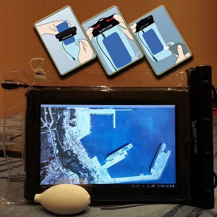 Водонепроницаемый чехол для планшетных копьютеров