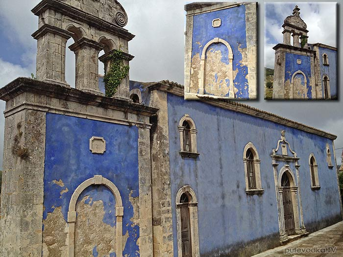 О. Закинтос. Древняя церковь св.Спиридона.