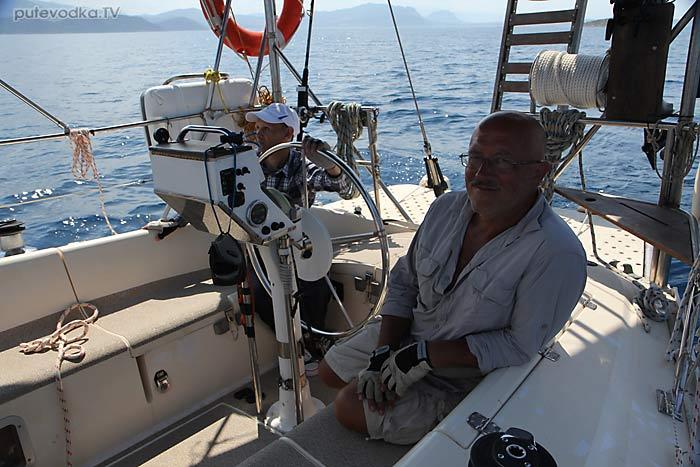 Яхта ПЕПЕЛАЦ. Греция. Пелопоннес. Коринфский канал— Корфос.