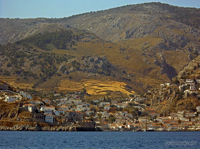 Греция. Остров Идра. Посёлок Идра.