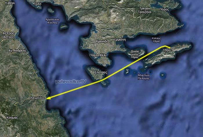 Греция. Восточный Пелопоннес. Яхтенный маршрут Идра— Леонидио.
