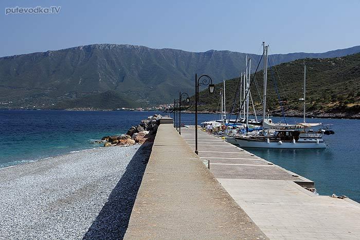 Греция. Восточный Пелопоннес. Марина Леонидио.