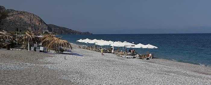 Греция. Восточный Пелопоннес. Пляжи Леонидио.