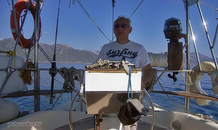 Греция. Яхта Пепелац. Пано.