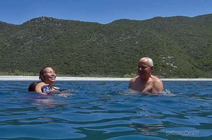 Греция. Яхта Пепелац. Залив Фокианос.