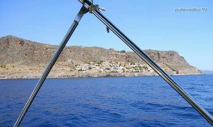 Греция. Пелопоннес. Город-крепость на острове Монемвасия (Моневасия).