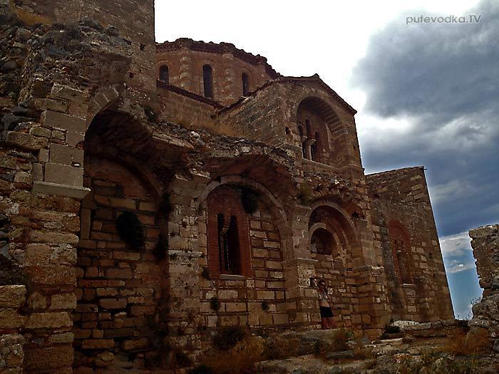 Греция. Пелопоннес. Монемвасия (Моневасия). Крепость. Храмы.