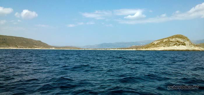 Греция. Пелопоннес. Яхта ПЕПЕЛАЦ. Остров Элафонисос.