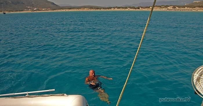 Греция. Пелопоннес. Остров Элафонисос.