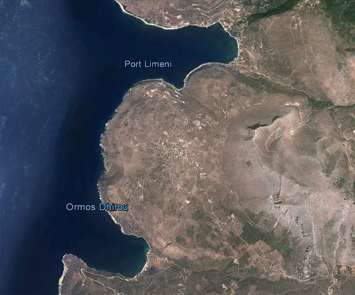 Греция. Пелопоннес. Бухты Дирос и Лимени.