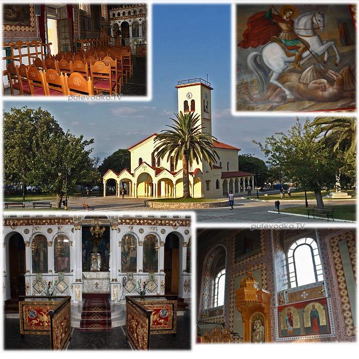 Греция. Пелопоннес. Петалиди (Петалидион). Местная церквушка.