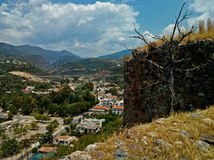 Греция. Пелопоннес. Каламата. Замок.
