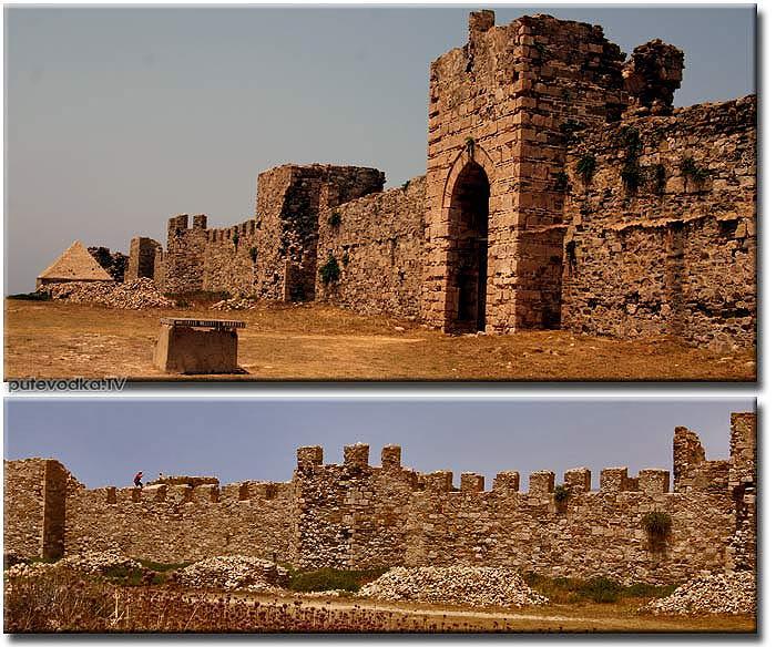 Греция. Пелопоннес. Замок-крепость Метони.