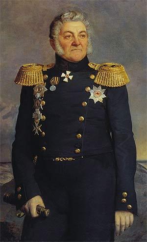 Русский адмирал Логин Петрович Гейден