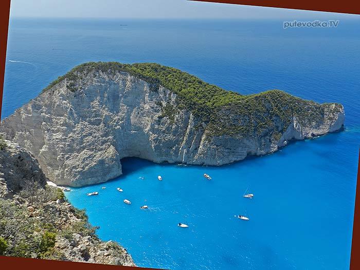 2013. Греция. Ионическое море. Яхта «Пепелац». О-в Закинтос. Залив Кораблекрушения.